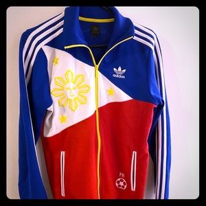 VINTAGE adidas Philippines track jacket Sz XS